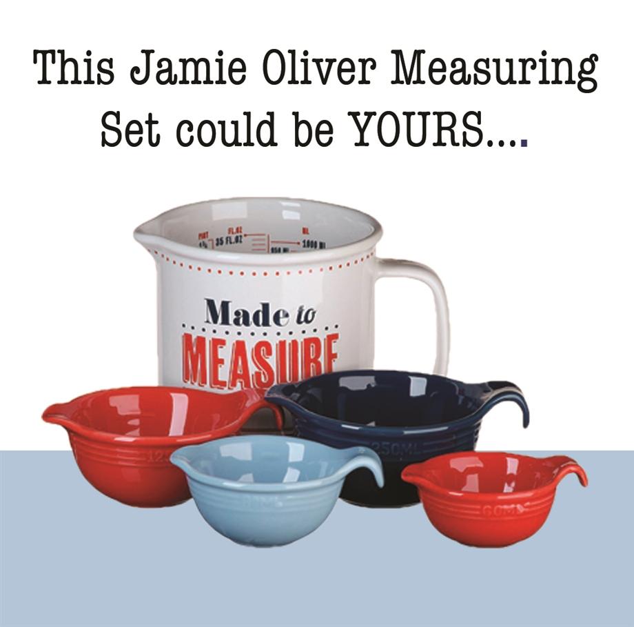 Jamie Oliver Giveaway