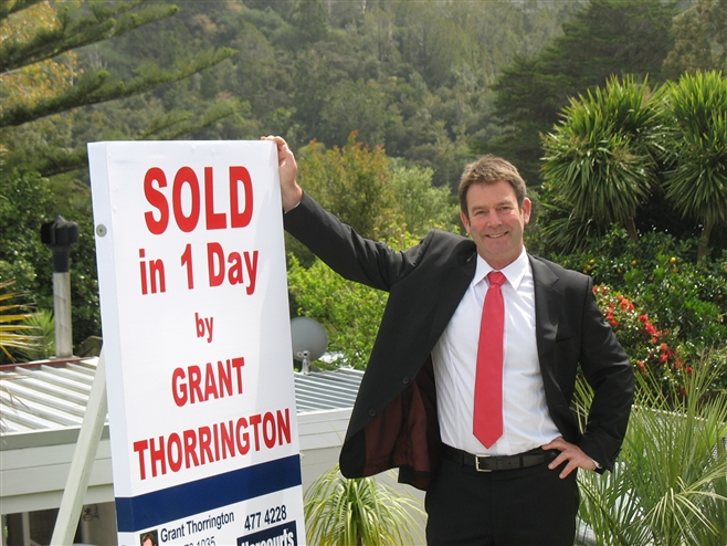 Grant Thorrington Sold in 1 Day