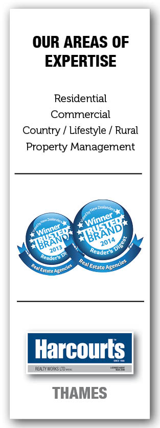 Harcourts Thames New Zealand Residential Commercial Country Property Management