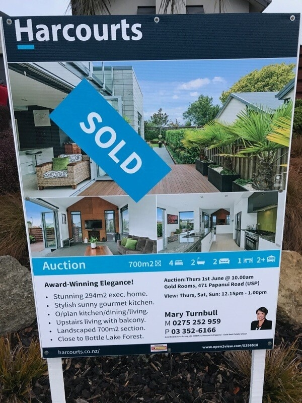 Sold Sign 2