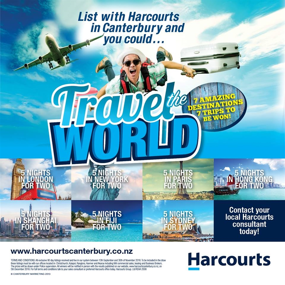 Travel the World with Harcourts