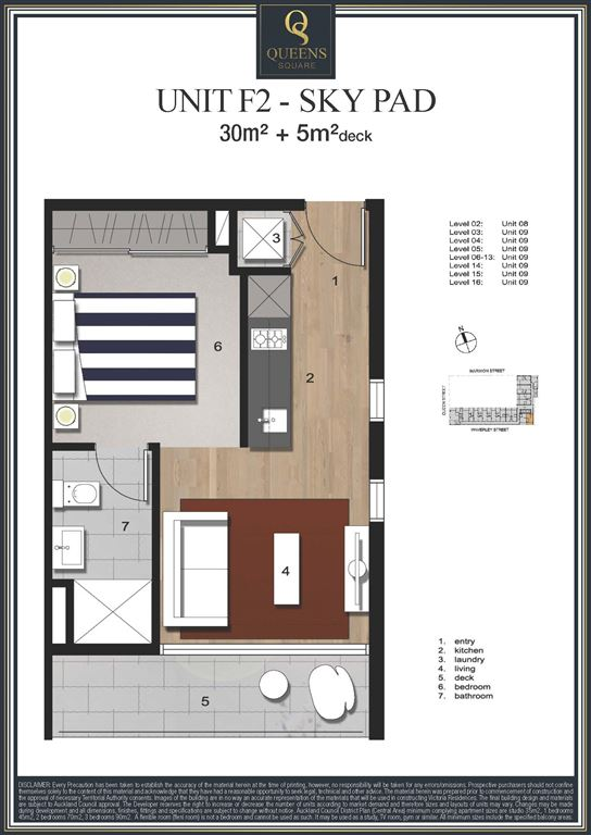 Brilliant Apartment Floor Plans Auckland Plan Intended Design