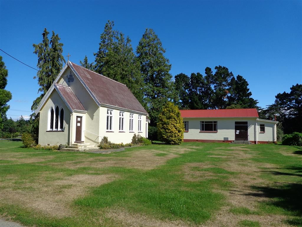 """The former """"St James"""" Church and Hall"""