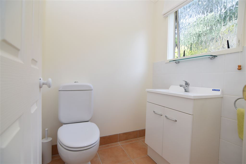 Top level, guest bathroom