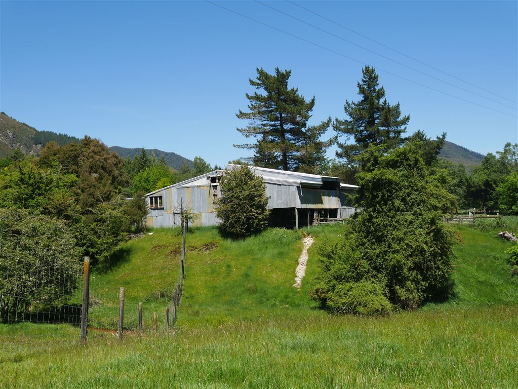 shearing shed - Home farm