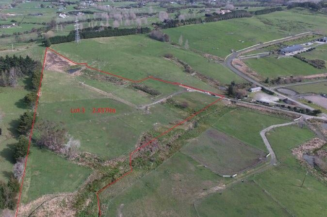 2.63ha Lifestyle Land in Dairy Flat