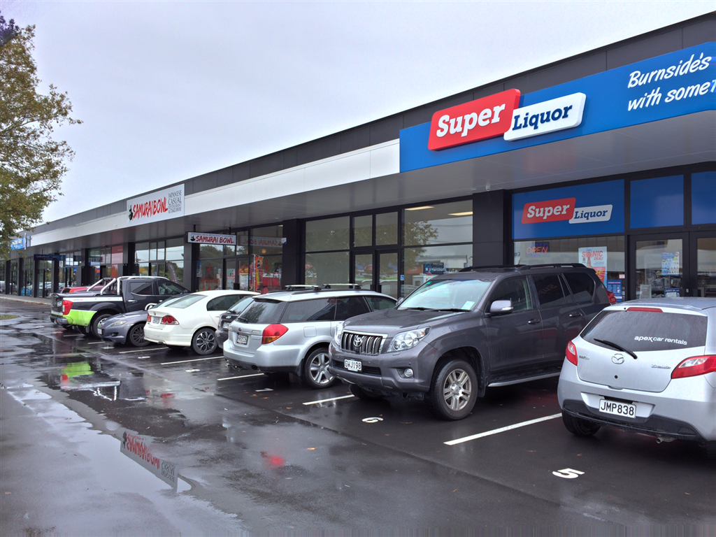 Retail Shops in Wairakei Road - For lease