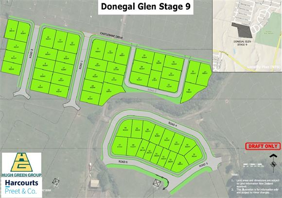 Great Location - Donegal Glen Stage 9