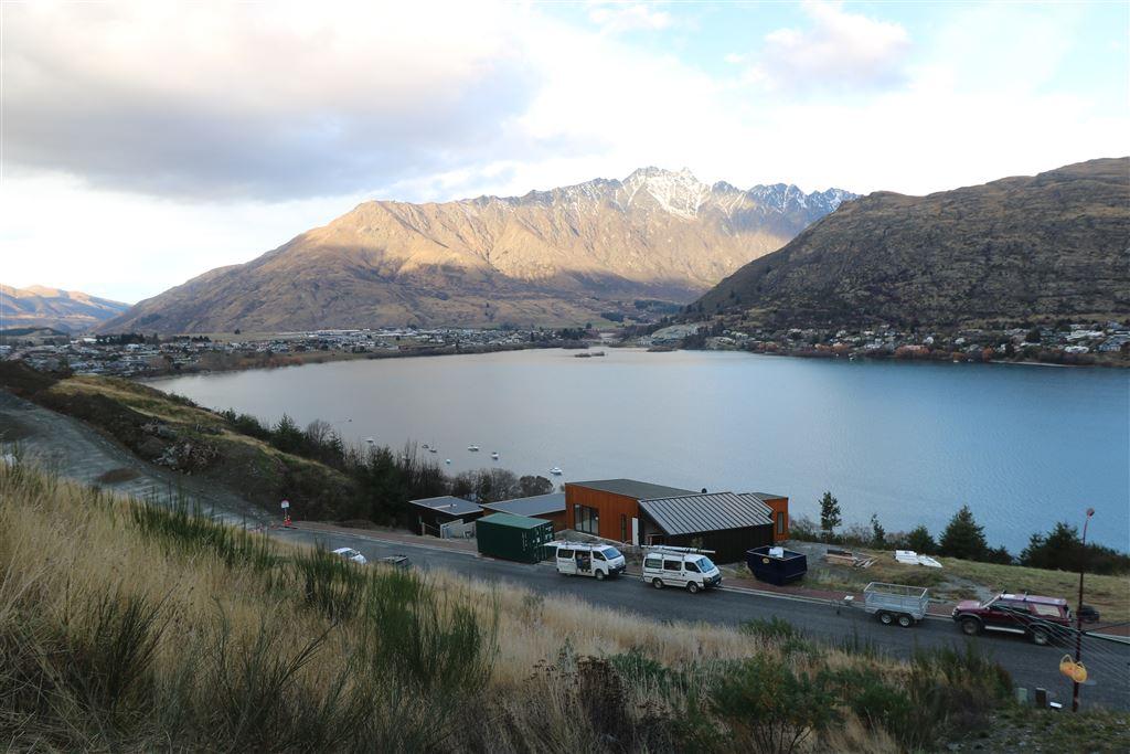 Spectacular mountain vista