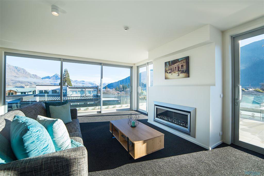Luxury penthouse living