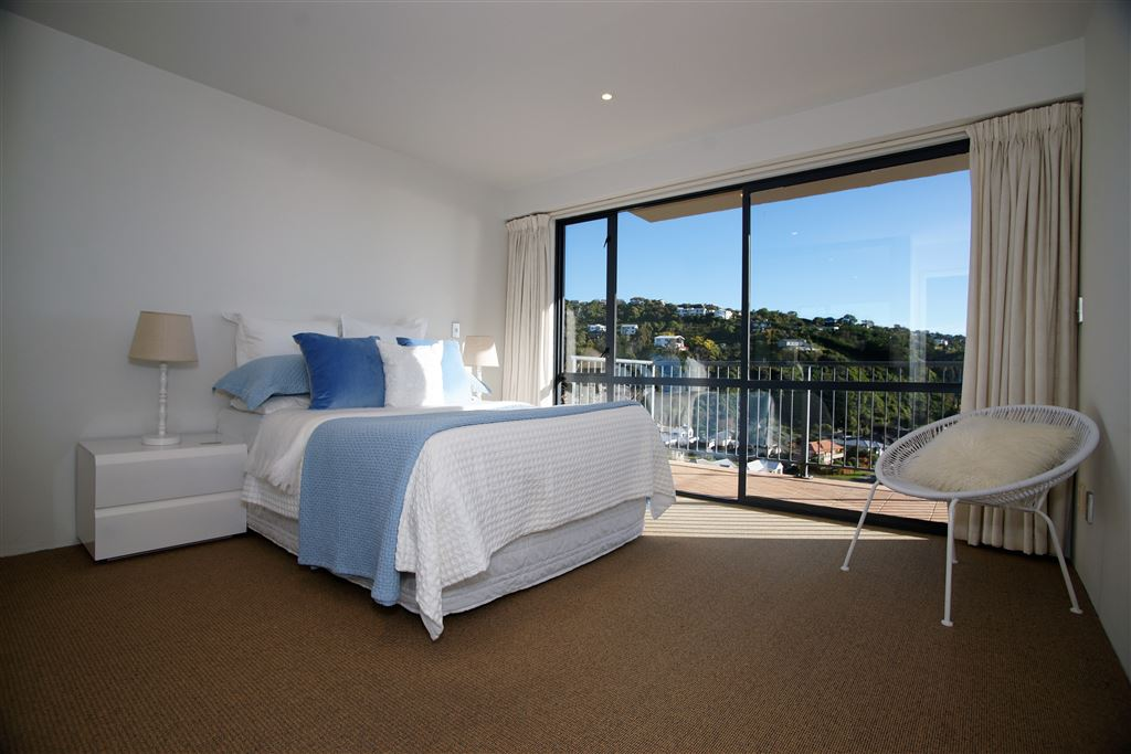 Bedroom 2, lower level, with stunning views