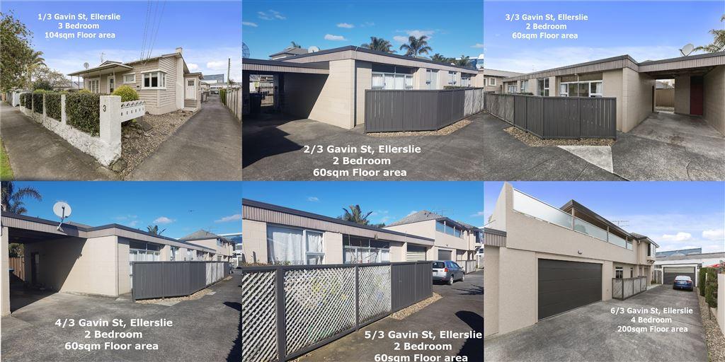 6 Properties in 1, 1482sqm in Ellerslie! Massive Opportunity