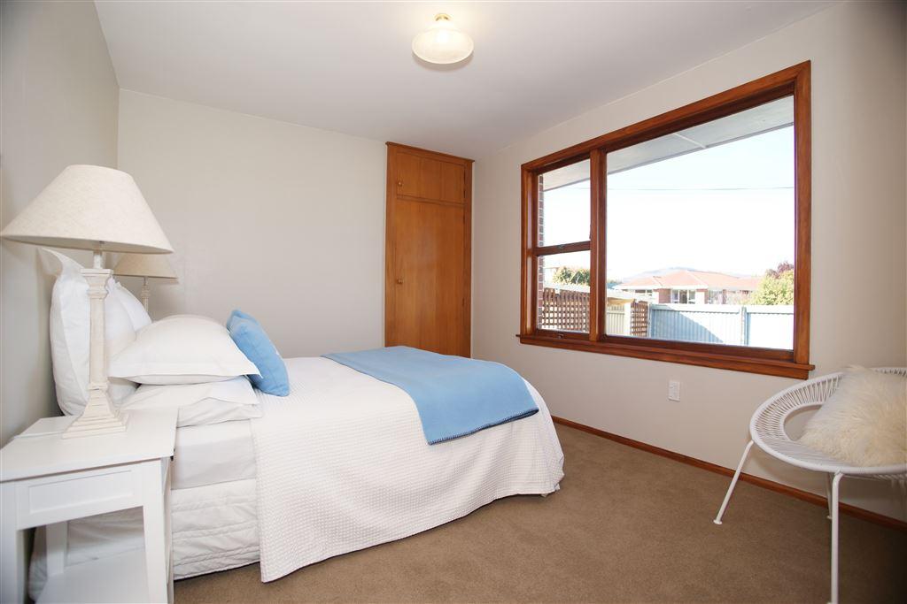 Bedroom 2, outlook towards the Port Hills