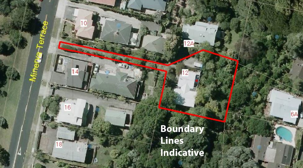 Aerial View - Boundary Lines Indicative