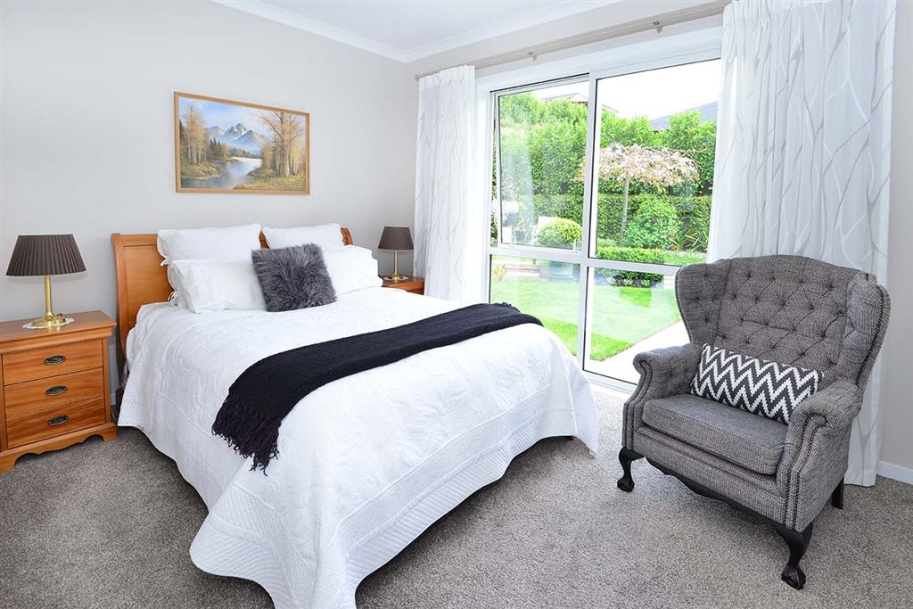 ... the second bedroom that enjoys the garden views