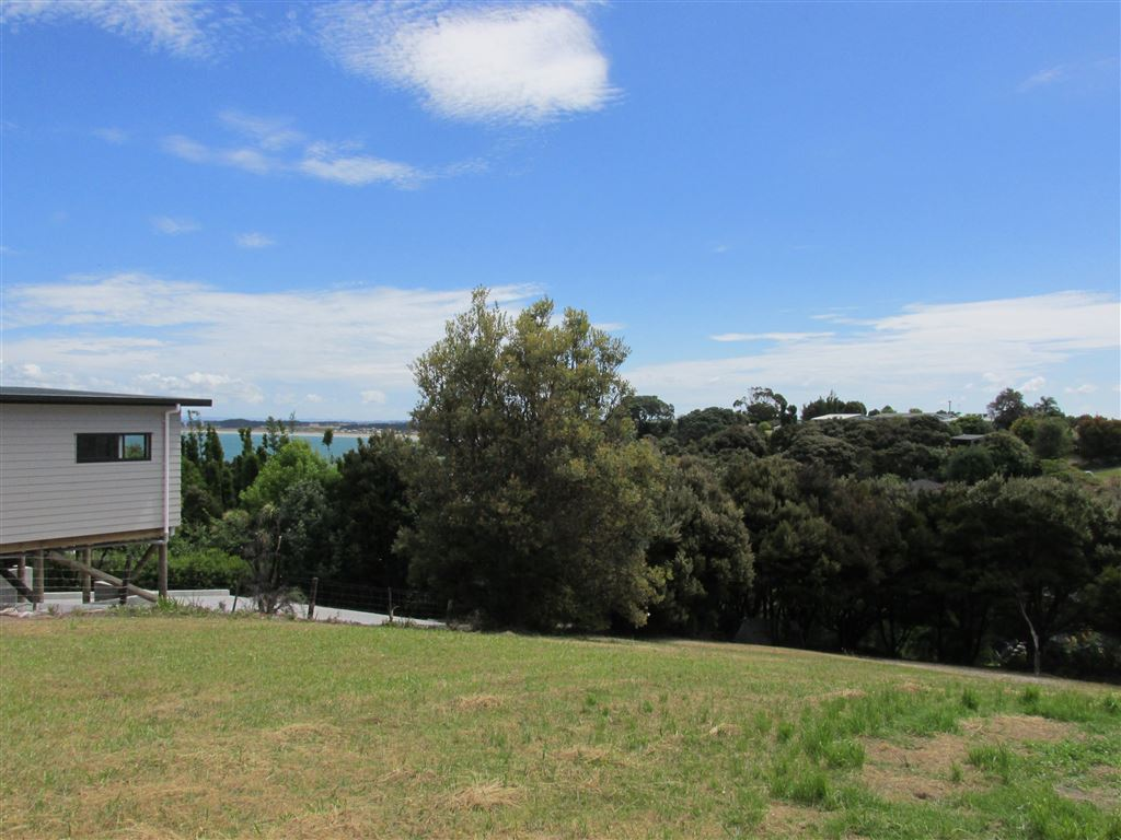 Views to Tokerau Beach from rear of section