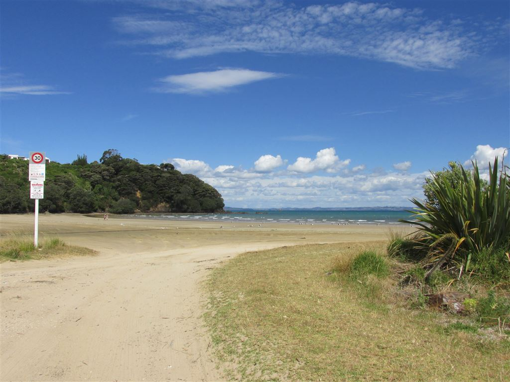 One end of Tokerau Beach  -photo not taken from section