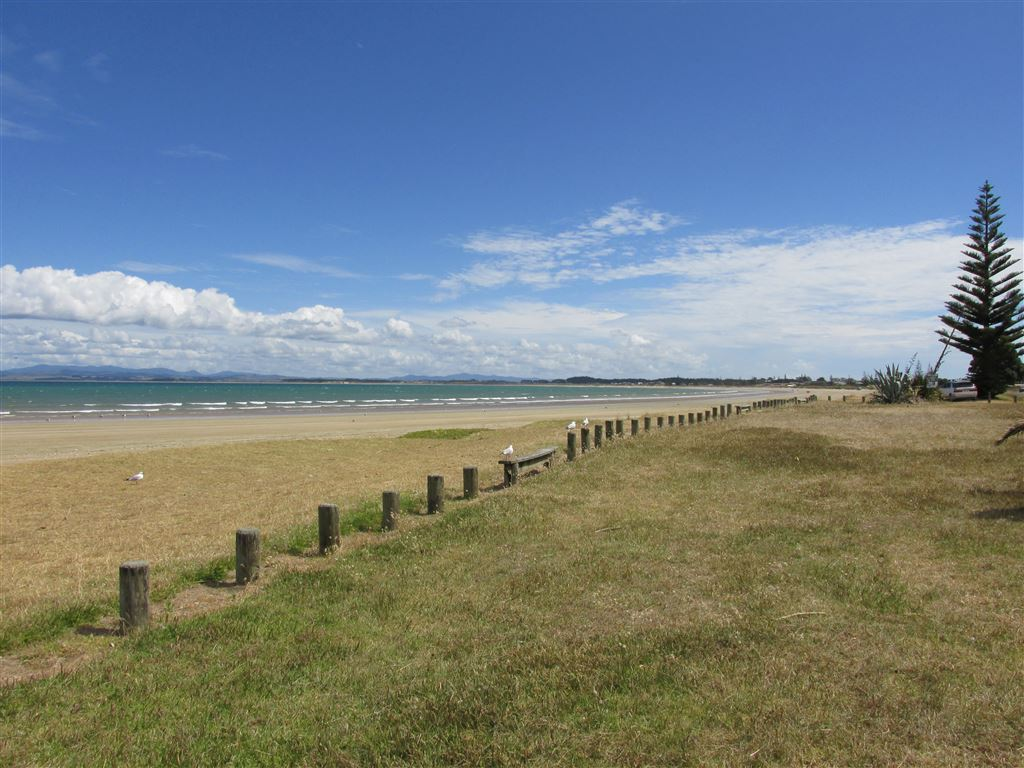 Great surfcasting potential, or gather shellfish  -photo not taken from section