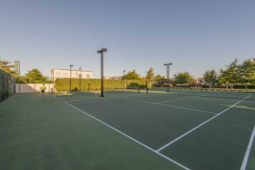 Tennis courts at Styx Mill Country Club