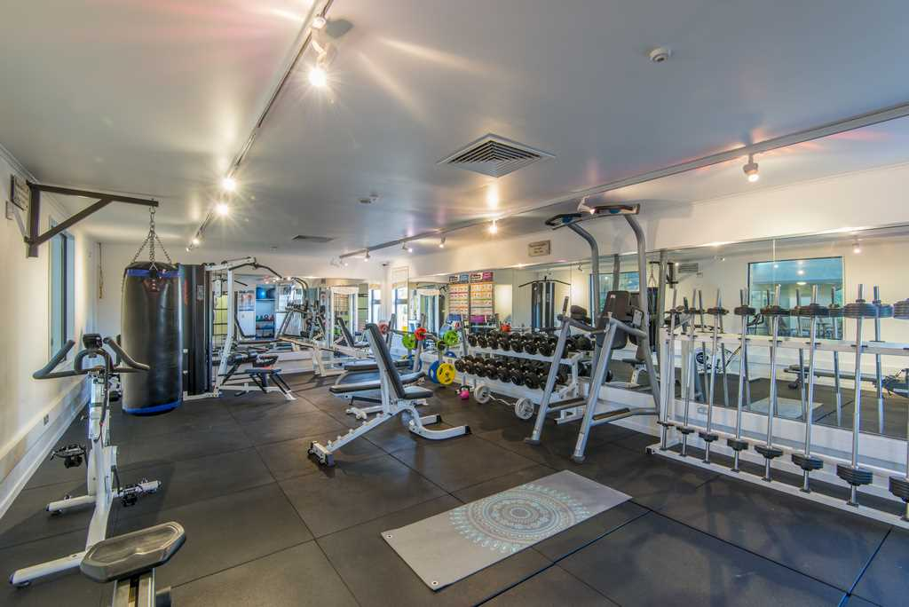 Interior of Gym at Styx Mill Country Club