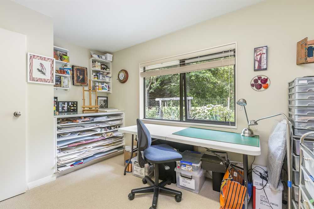Bedroom three - used as studio
