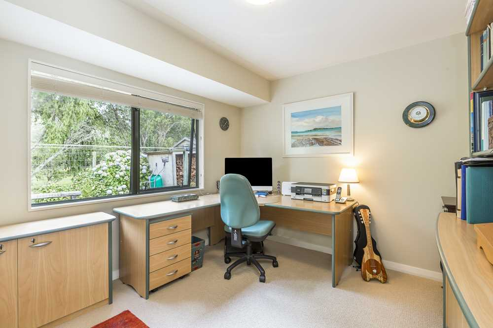 Bedroom four is spacious office