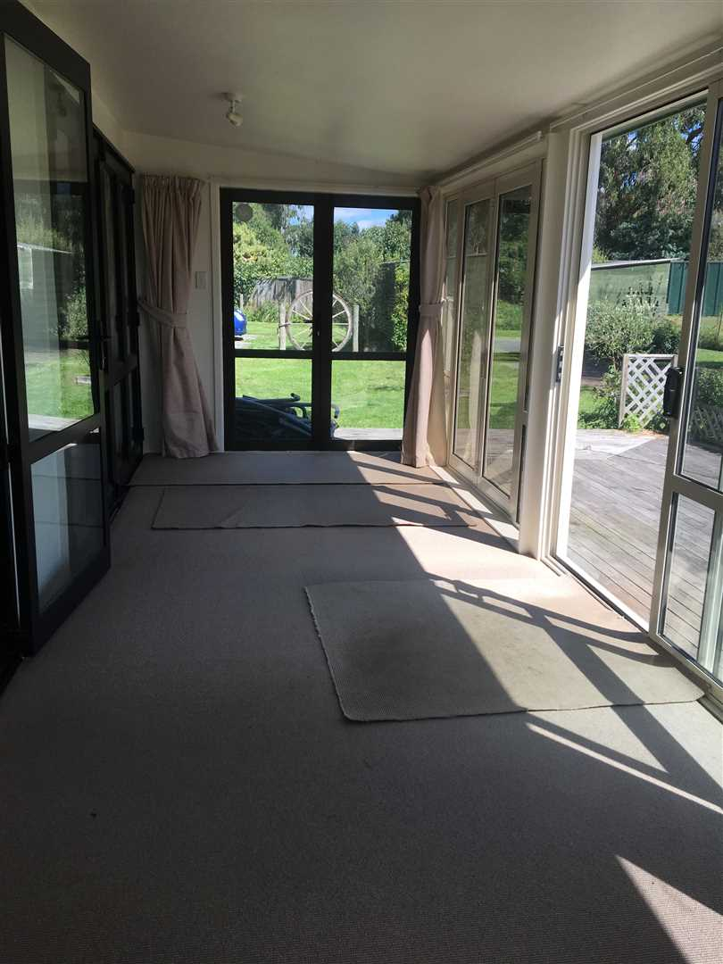 Sunroom/front door