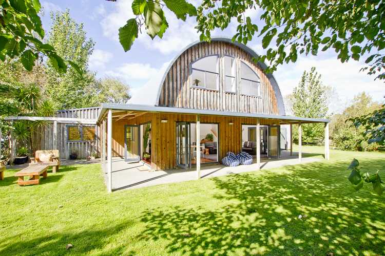 Peaceful & Private 12.8 Acres With Stylish Barn Home