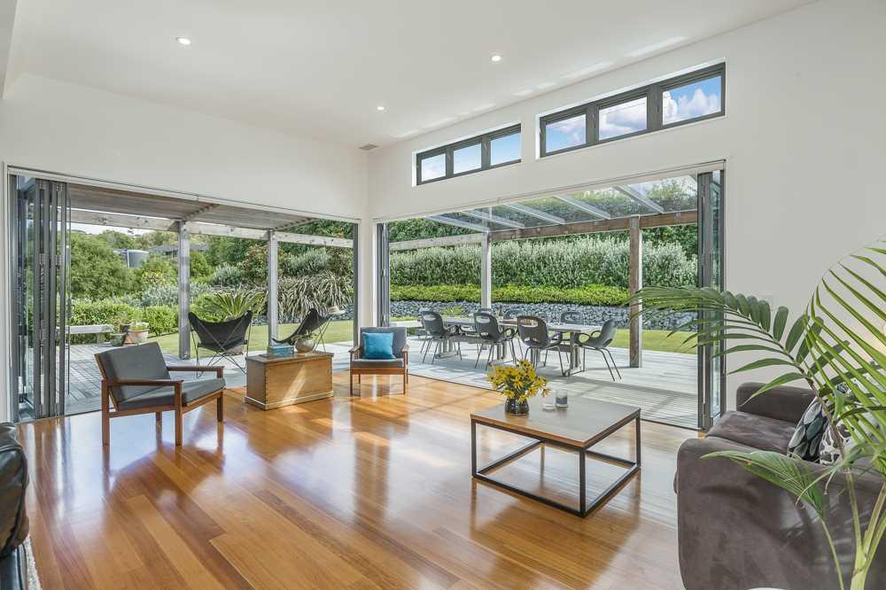 Polished Tasmanian Oak flooring