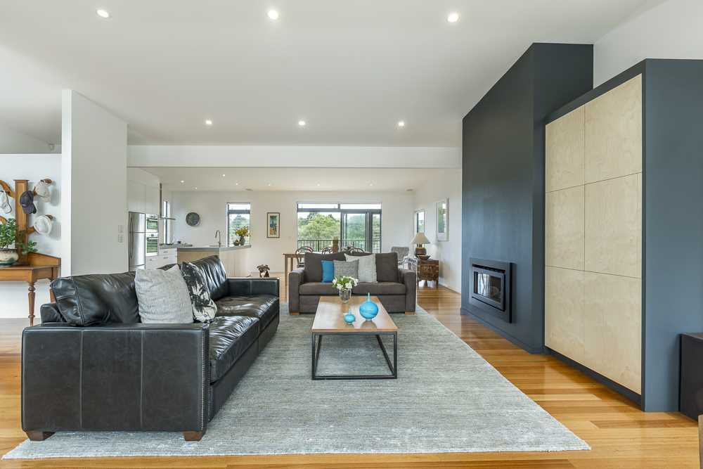 Open plan for relaxed living and entertaining