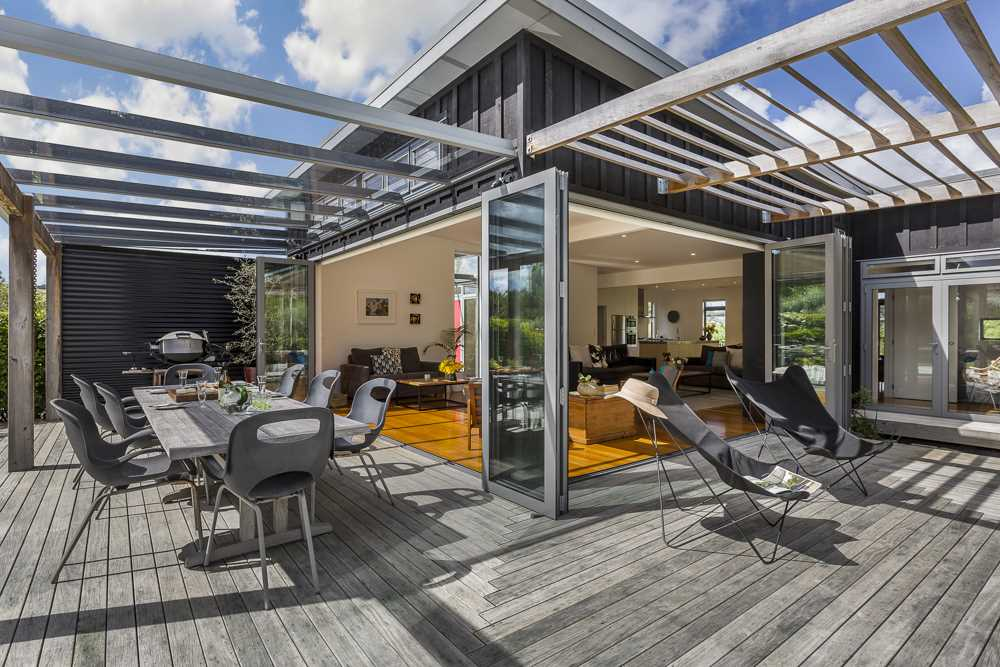 contemporary and styled with outdoor living in mind!