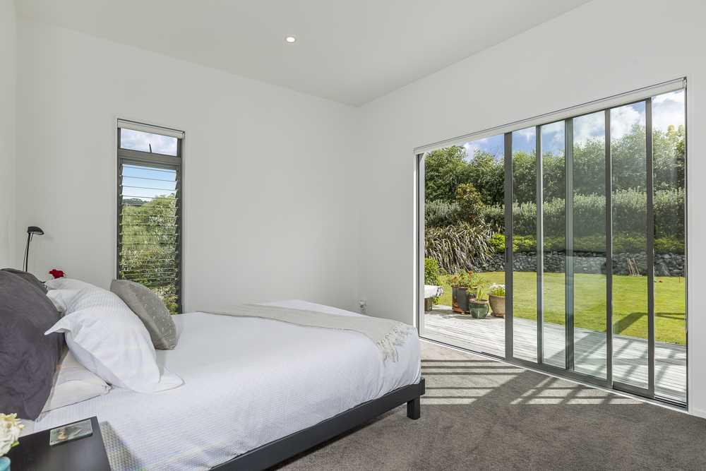 Main bedroom greets the morning sun