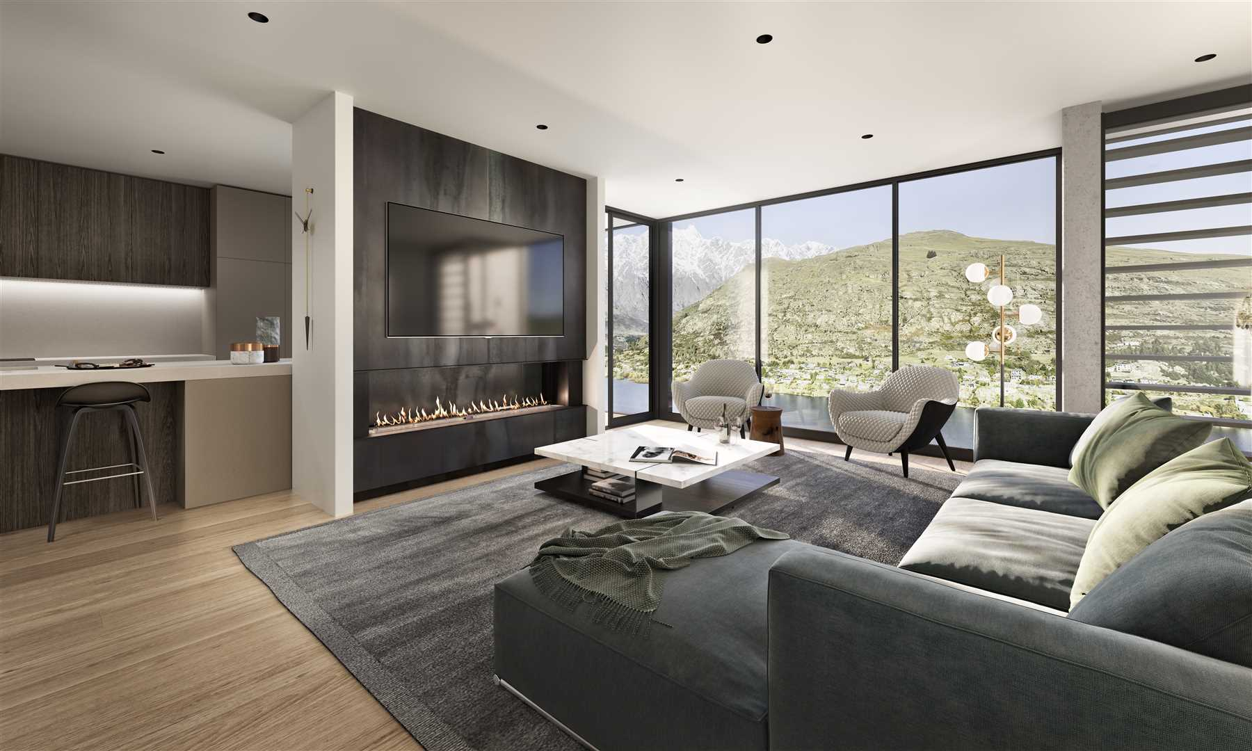 Contemporary Design, Incredible Views, Proven Development.