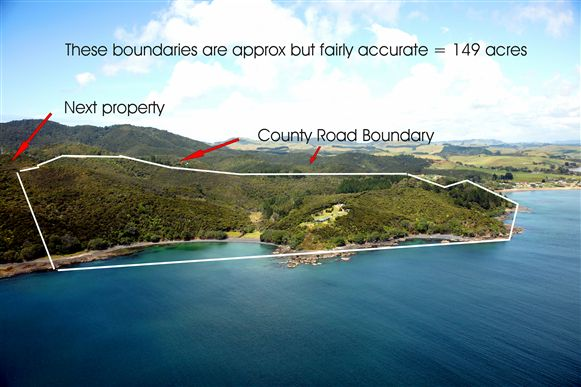 Boundary lines are;