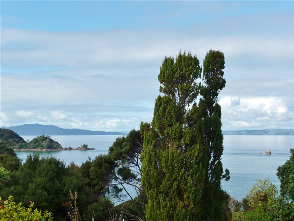 View from deck over Doubtless Bay