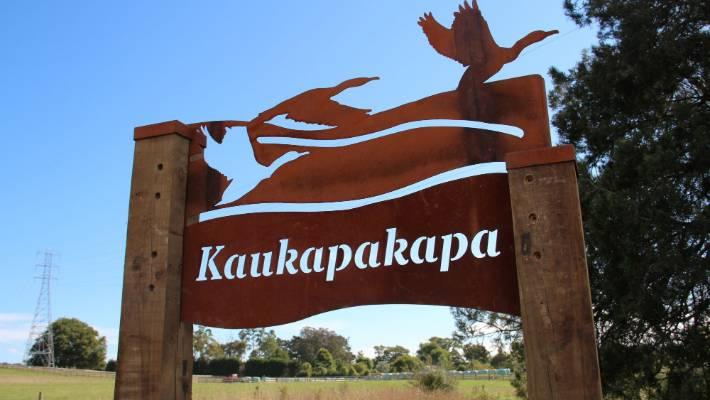 Kaukapakapa welcome sign