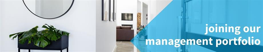 Joining our property management portfolio