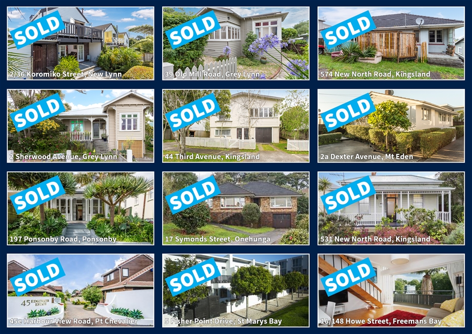 A Selection Of Our Sold Listings