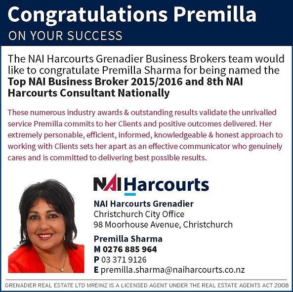 Congratulations Premilla