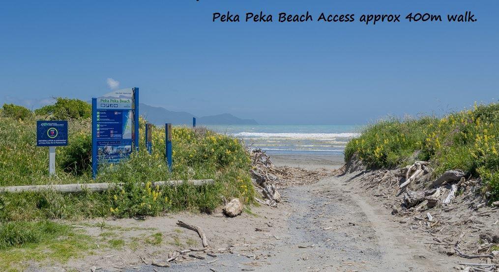 Pekapeka beach
