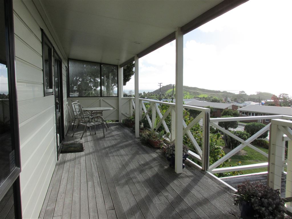 Great deck for entertaining or relaxing
