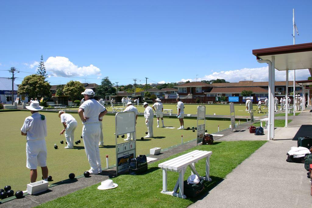 Bowling Club - across the road