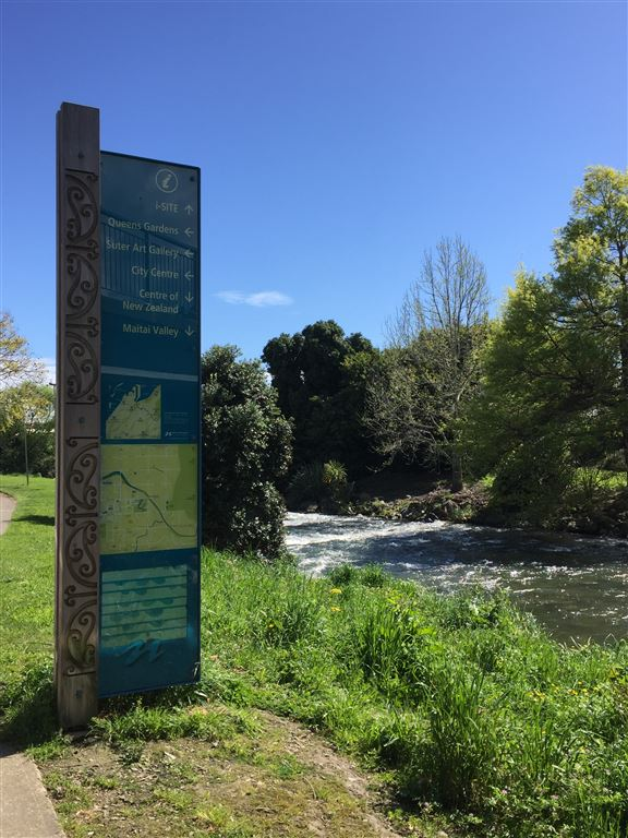 Just meters from the property - Maitai River