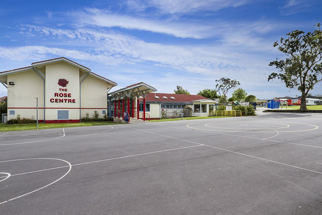 Belmont Rose Centre adjacent to property