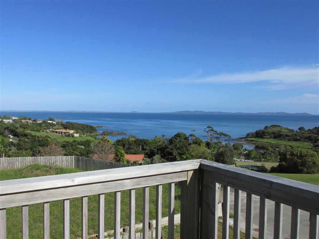Views from deck out over Doubtless Bay