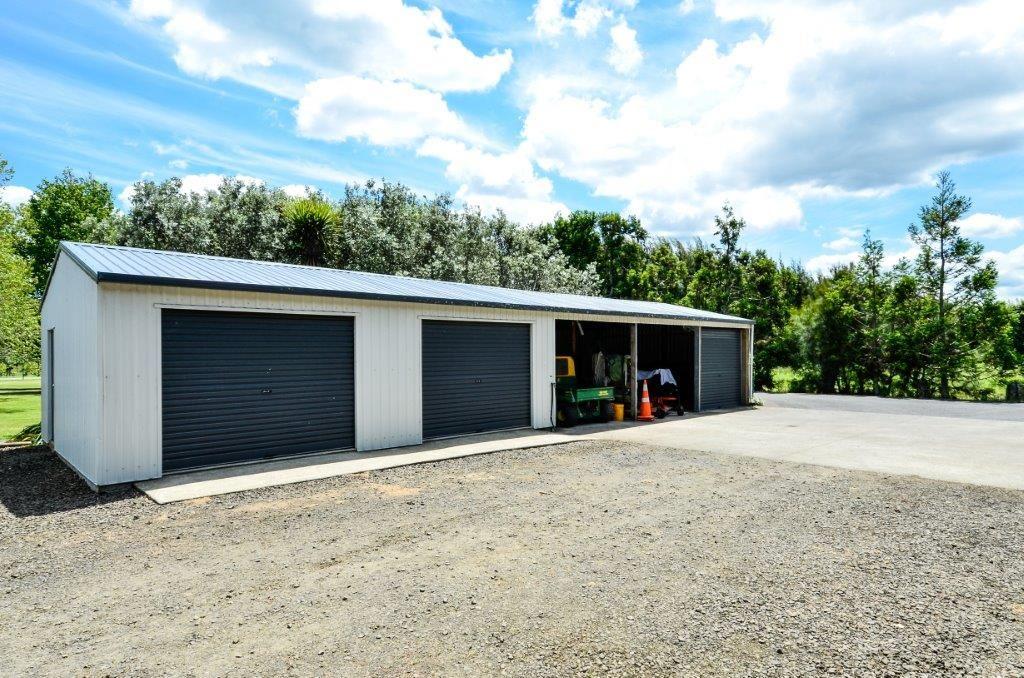 Five bay sheds