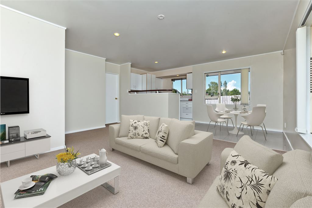 This shows the living area