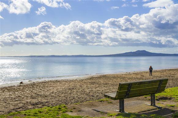 Mairangi Bay Beach - a short stroll away.