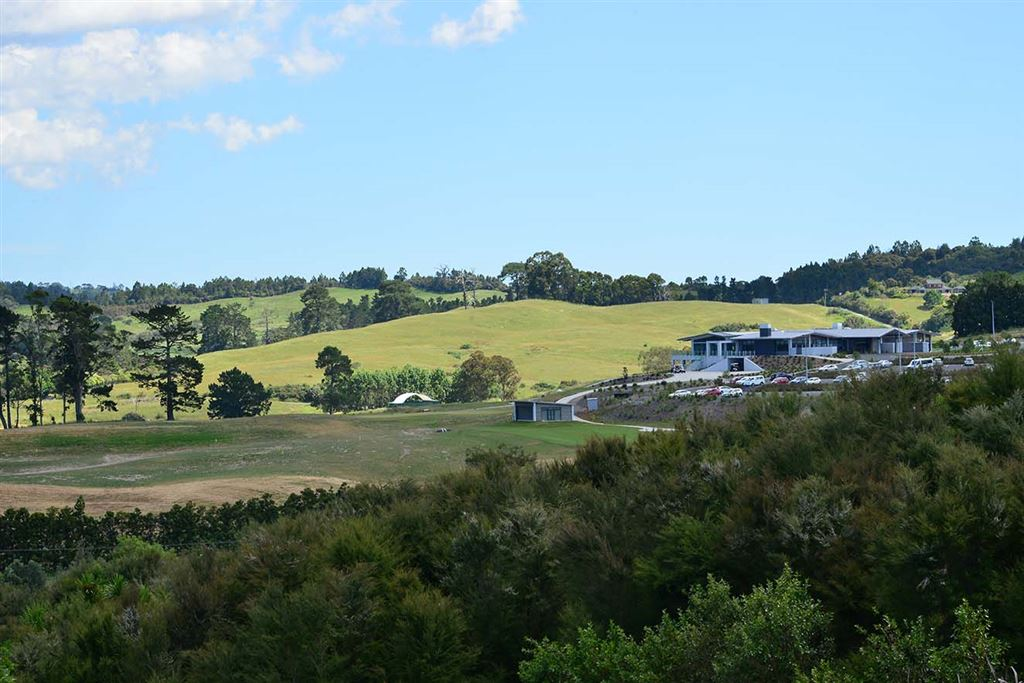 Views towards Wainui Golf Course