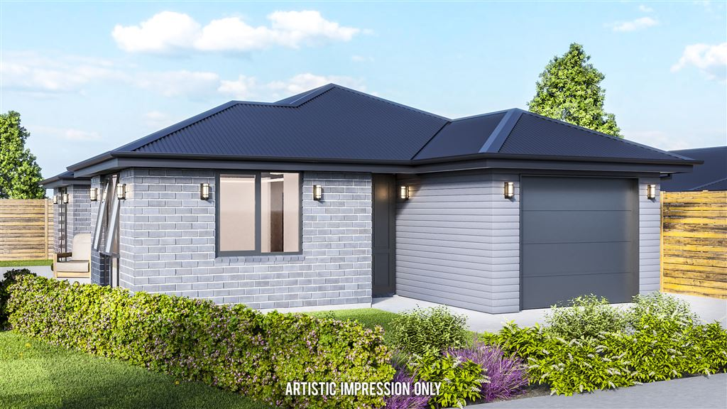 Brand new build in Rolleston (Front)